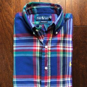Ralph Lauren Custom Fit Button Down Shirt M